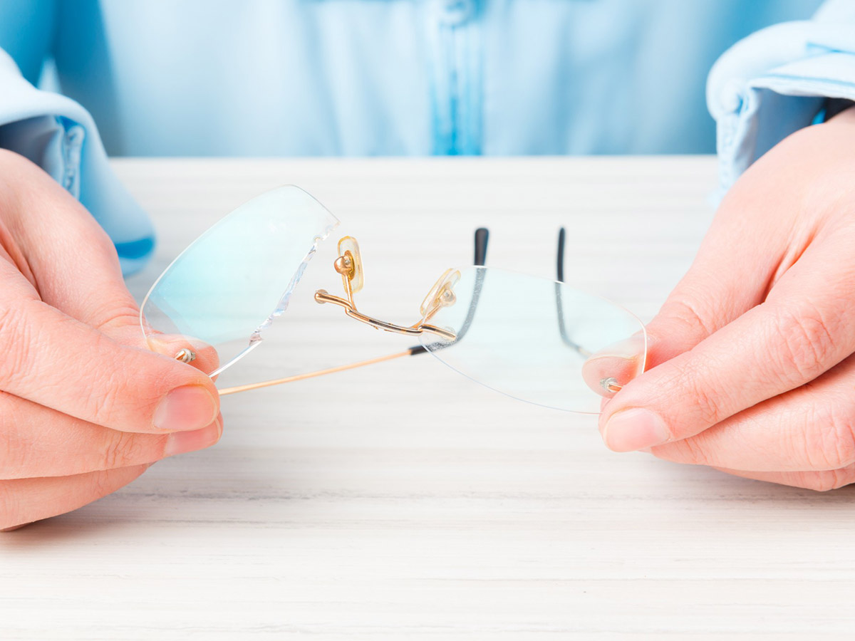 Popravka naočara